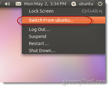 switch form ubuntu