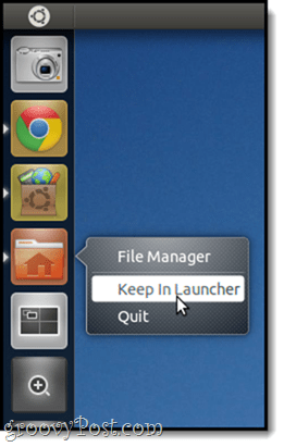 KEep in launcher add app to unity bar
