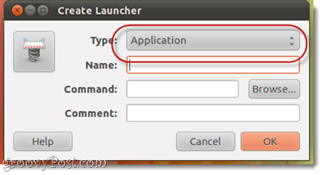 Linux launcher in unity sidebar