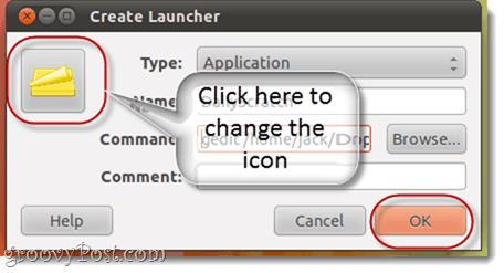 create launcher in ubuntu