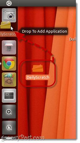 add launcher to unity sidebar