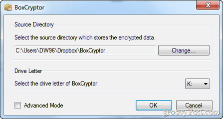 password protect dropbox folders