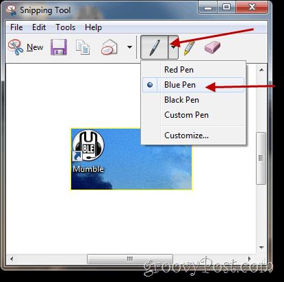 how to draw on a screenshot windows