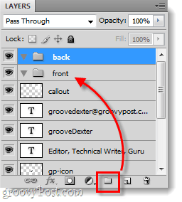 separate your front and back elements in photoshop