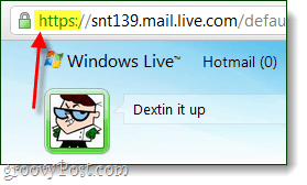 windows live mail https setup