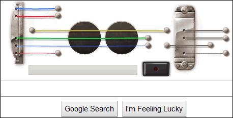Guitar Google Logo