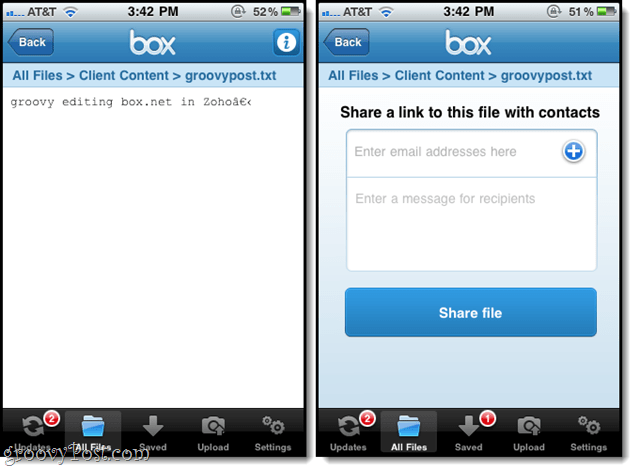 box.net iphone app