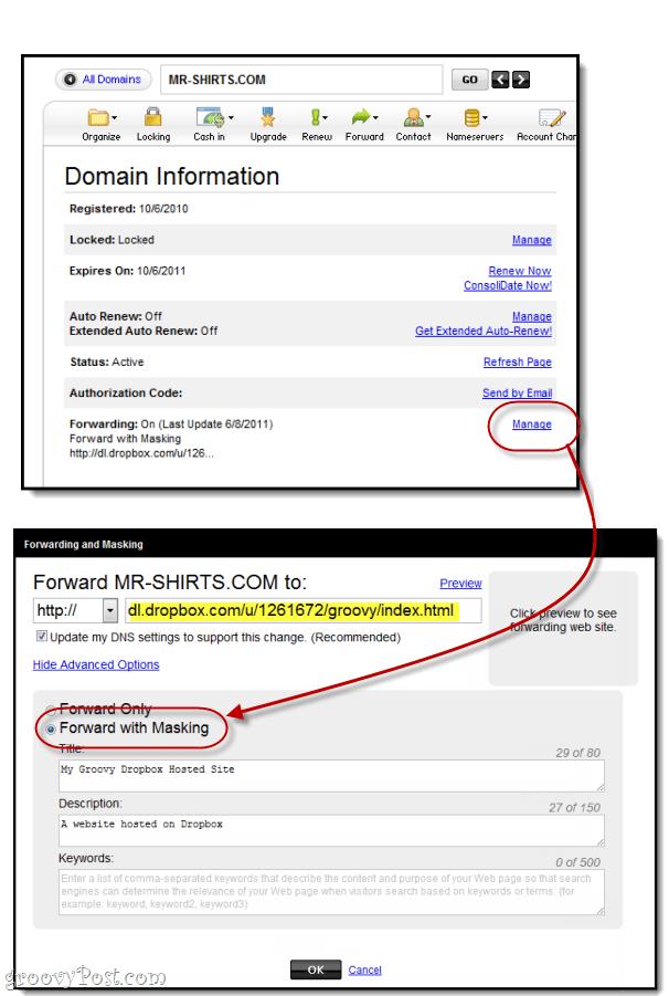 domain masking godaddy
