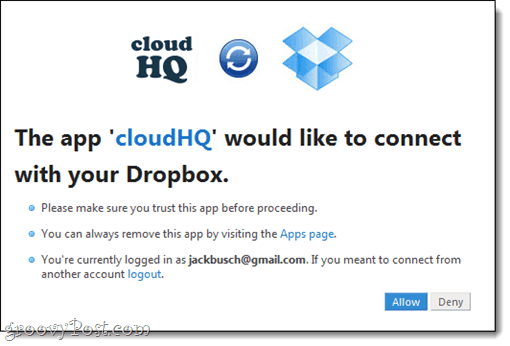 CloudHQ: Dropbox and Google Docs