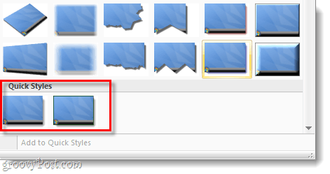 snagit quick styles screenshot