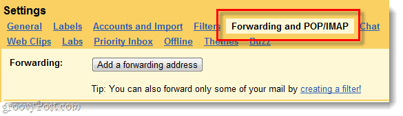 check gmail for malicious forwarding