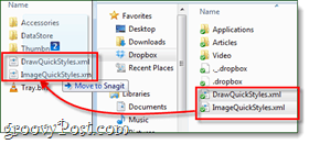 import snagit styles to your appdata folder