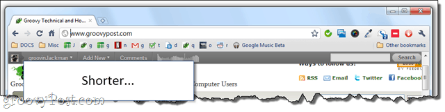 TIL: you can show only favicon in chrome