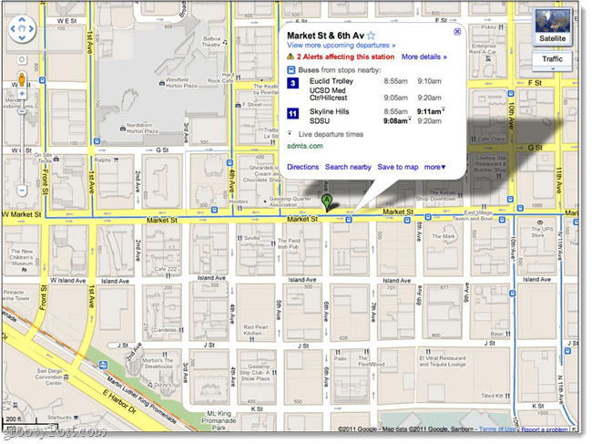 desktop transit google maps
