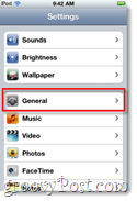 iphone general settings