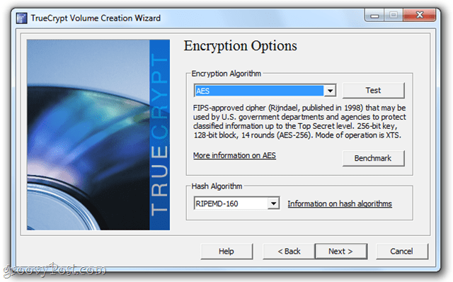 dropbox encrypted volumes