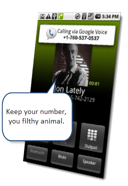 google voice keep your old number