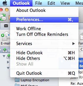 how to delete calendar in outlook mac