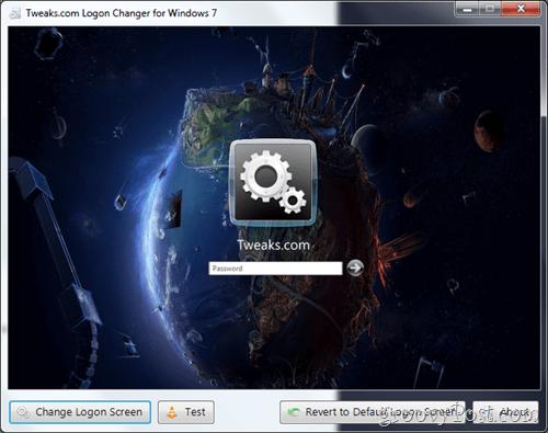 login changed