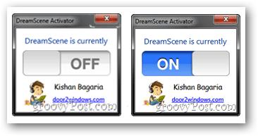 enable DreamScene Activator