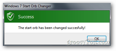 Start Orb Changer - Success!