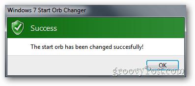 Start Orb Changer - Success!