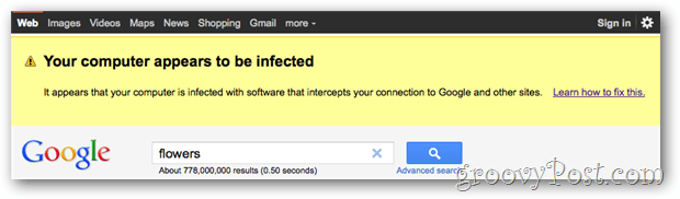 Google Vs. Malware!