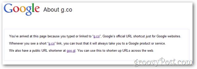 google short-url