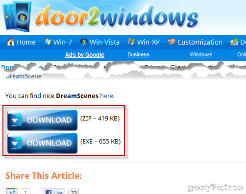 DreamScene download