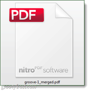 merge pdf combined file