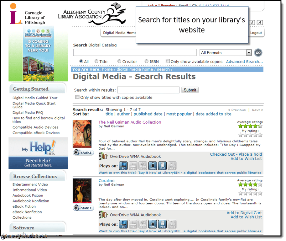 Catalog Your Books And Manage Your Library With Excel: How To Check Out Free Audiobooks And EBooks From Your