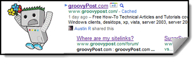 how to add sitelinks in google