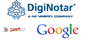 Google Fraudulent DigiNotar Secure Socket Layer Certificate