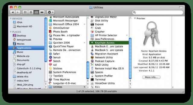 Revoking digital certificate from diginotar in OS X