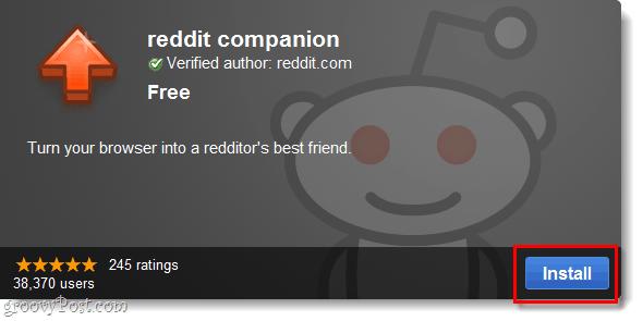 reddit companion installation