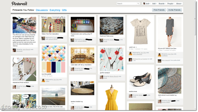 pinterest - a collection of pretty things to look at