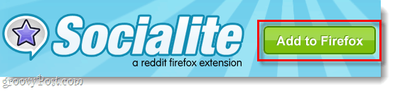 add socialite to firefox