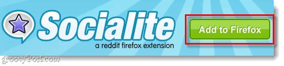 add socialite to firefox