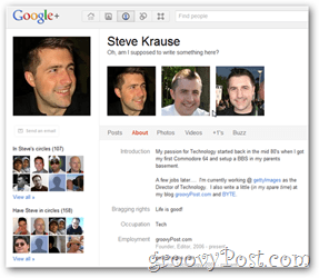 steve krause google+ profile