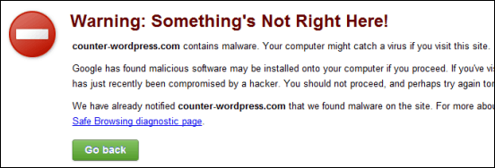 Timbthumb vulnerability renders wordpress on the Google Alert