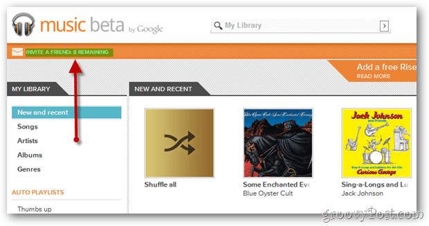 groovyPost Google Music Beta Invite Donation