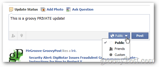 Facebook Privacy Limit who your share with