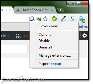 Hover Zoom Options