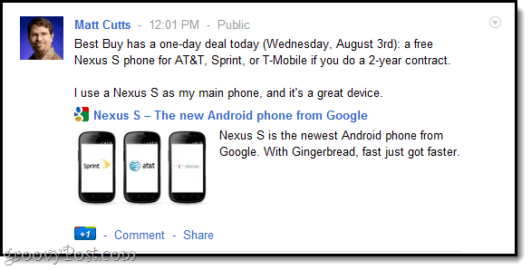 Matt Cutts recommends free Google Phone