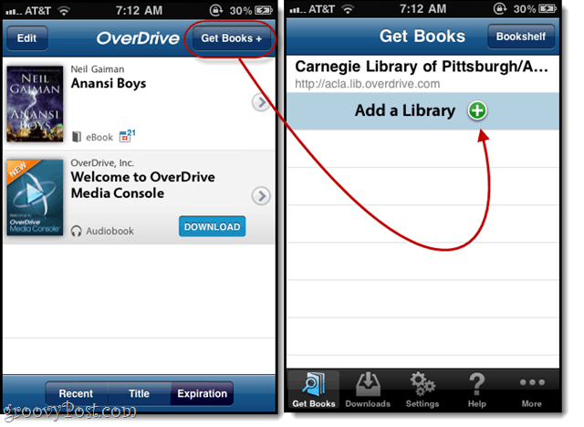 add your library to overdrive