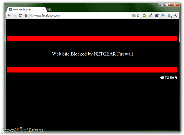 blocking sites with your netgear router