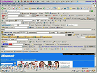 way too many toolbars for your own good