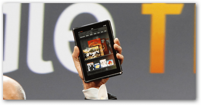 Kindle Fire Press Conference