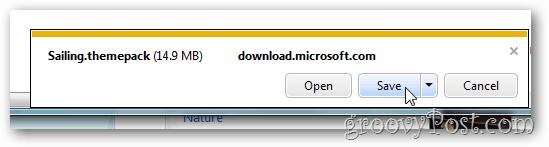 windows 7 free theme save