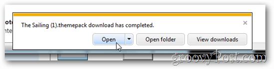 windows 7 free theme open install